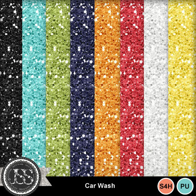Car_wash_glitter_papers