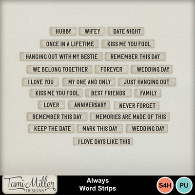 Always_word_strips