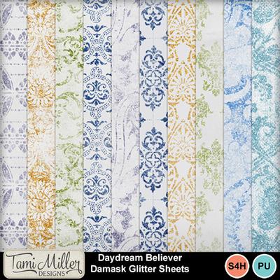 Daydream_believer_damask_glitter_sheets