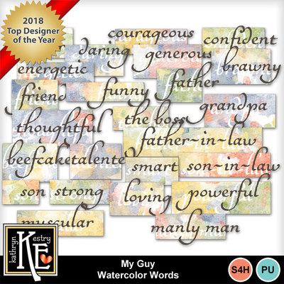 Watercolorwords