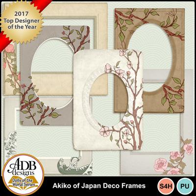 Adbdesigns-akiko-of-japan-deco-frames