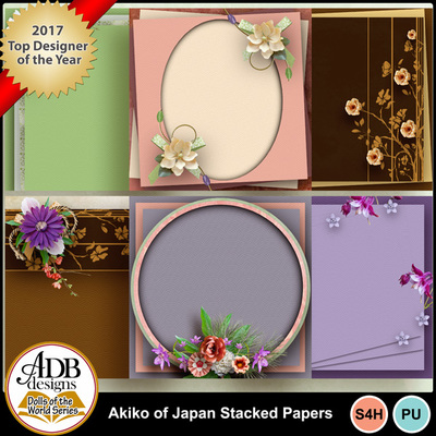 Adbdesigns-akiko-of-japan-stacked-papers