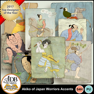Adbdesigns-akiko-of-japan-worriors-accents