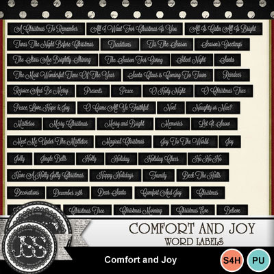 Comfort_and_joy_word_strips