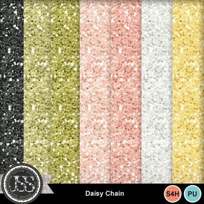 Daisy_chain_glitter_papers