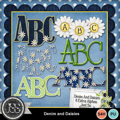 Denim_and_daisies_alphabets
