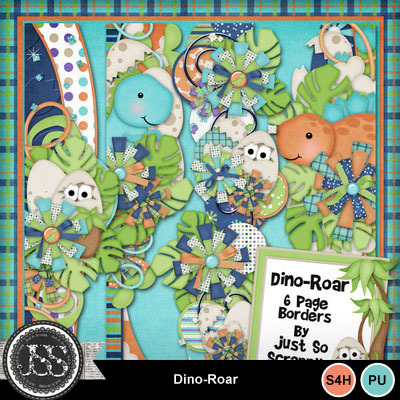 Dino_roar_page_borders