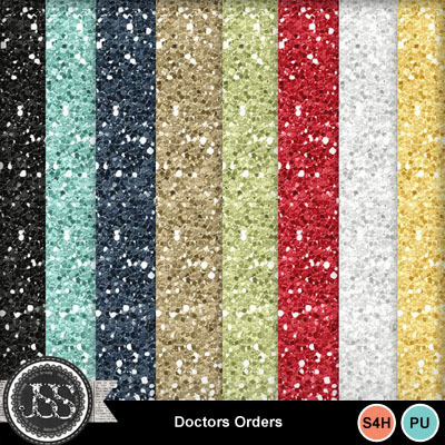 Doctors_orders_glitter_papers