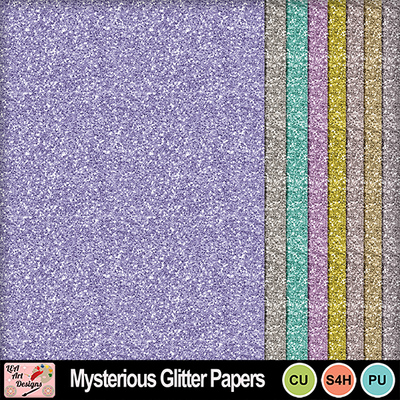 Mysterious_glitter_papers_preview