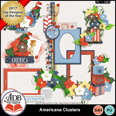 Americana_clusters