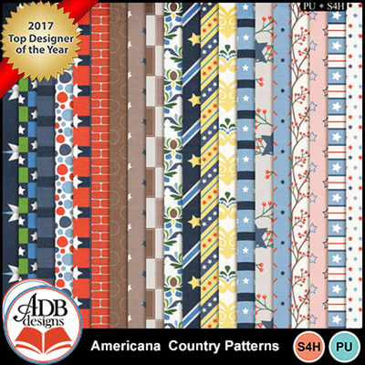 Americana-ppr-patterns