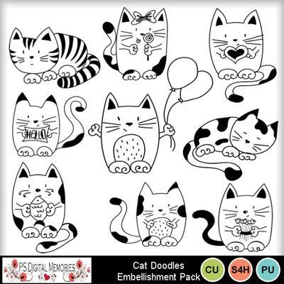 Cat_doodles