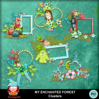 Kastagnette_myenchantedforest_clusters_pv