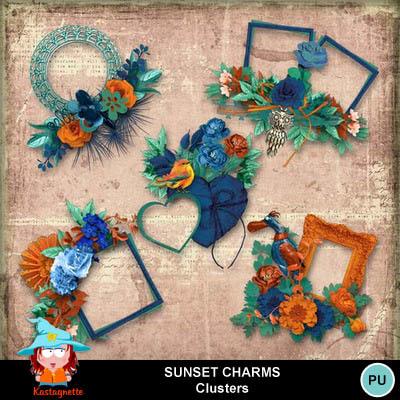 Kastagnette_sunsetcharms_clusters_pv