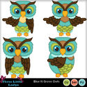 Blue_n_green_owls_small
