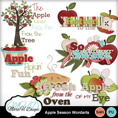 Apple-season-wordarts-01