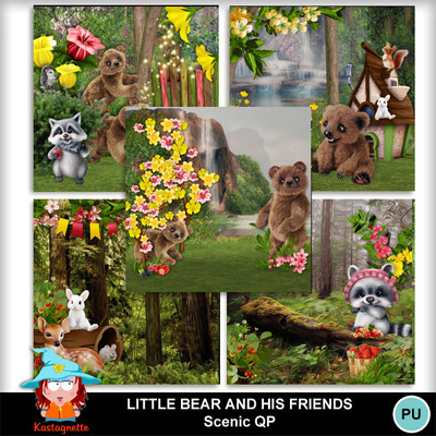 Kastagnette_littlebearandhisfriends_scenicqp_pv
