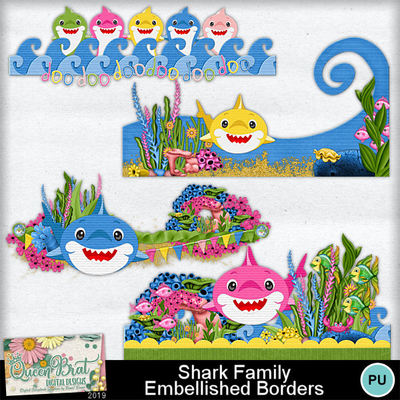 Sharkfamily_embellishedborders