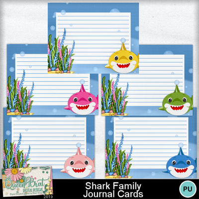 Sharkfamily_journalcards