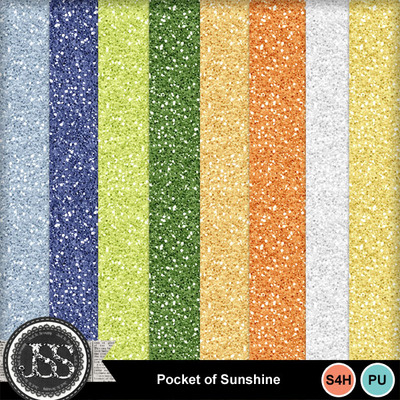 Pocket_of_sunshine_glitter_papers
