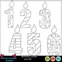 Birthday_candle_line-art_small