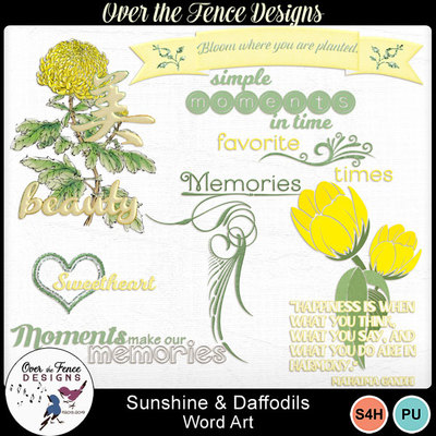 Sunshinedaffodils_wordart-600
