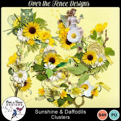 Sunshinedaffodils_clusters-600