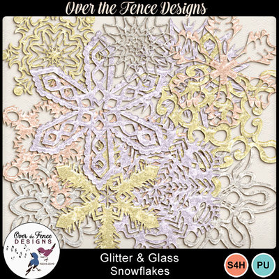 Glitterglass_snowflkes