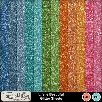 Life_is_beautiful_glitter_sheets
