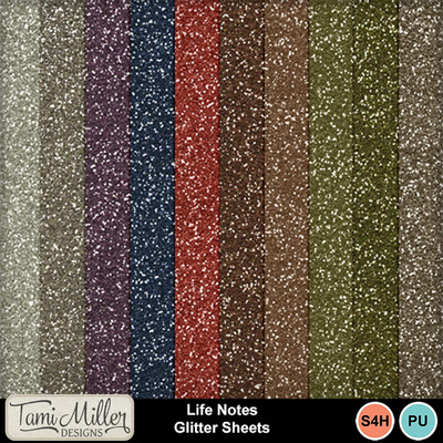 Life_notes_glitter_sheets