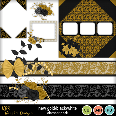 New_gold-black-white-element_pack_preview_600