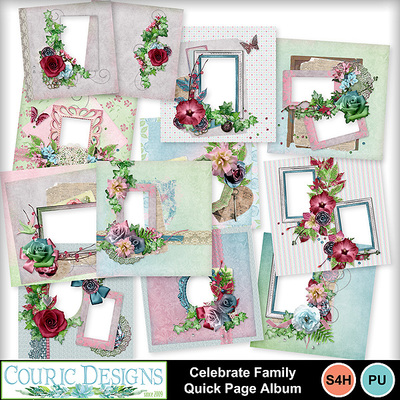 Celebrate-family-quick-page-album