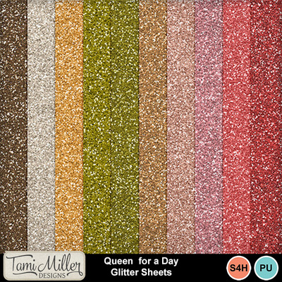 Queen_for_a_day_glitter_sheets