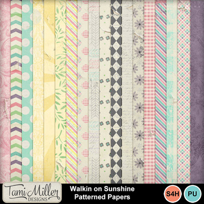 Walkin_on_sunshine_patterned_papers