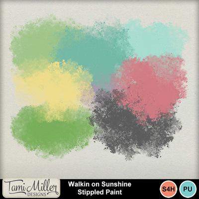 Walkin_on_sunshine_stippled_paint