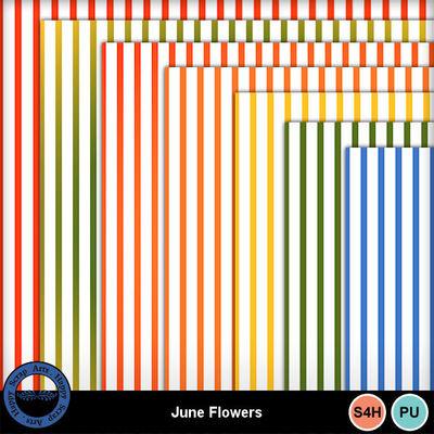 Juneflowersstripedpapers