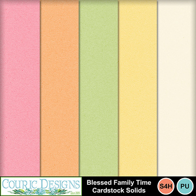 Blessed-family-cardstock-solids