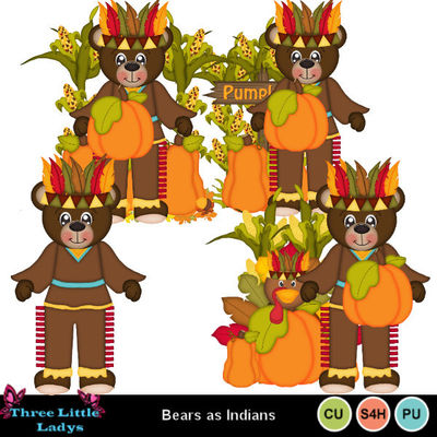 Bears_as_indians