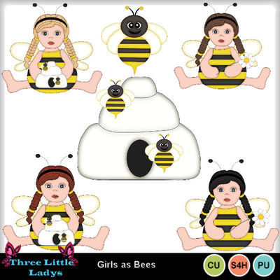Girls_as_bees