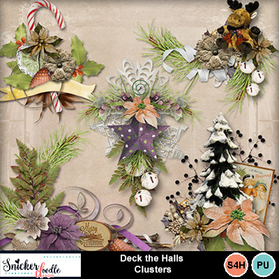 Deck-the-halls-clusters-1