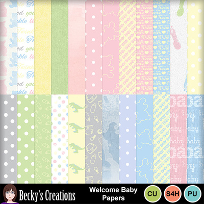Welcome_baby_papers