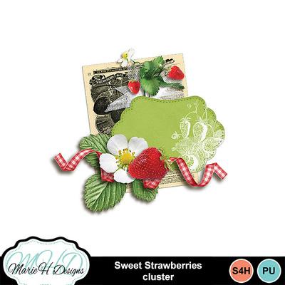 Sweet-strawberries-cluster
