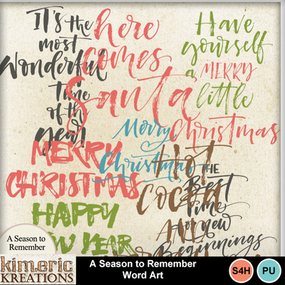 Season_to_remember_word_art