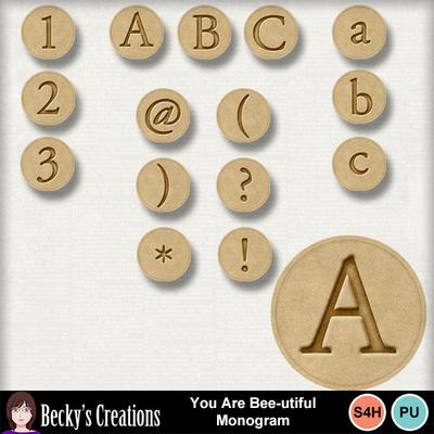 You_are_bee-utiful_monogram