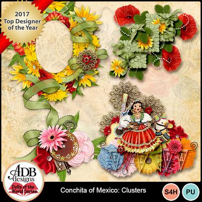 Adbdesigns-dotw-conchita-mexico-clusters