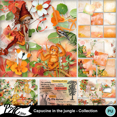 Patsscrap_capucine_in_the_jungle_pv_collection