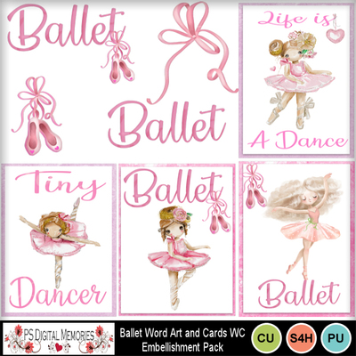 Ballet_word_art_cards