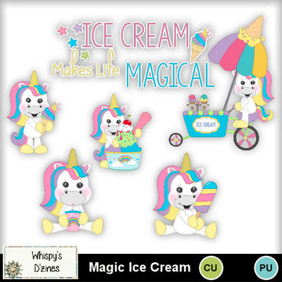 Wdcumagicicecreamcapv