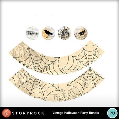 Vintage-halloween-party-bundle-cupcake2