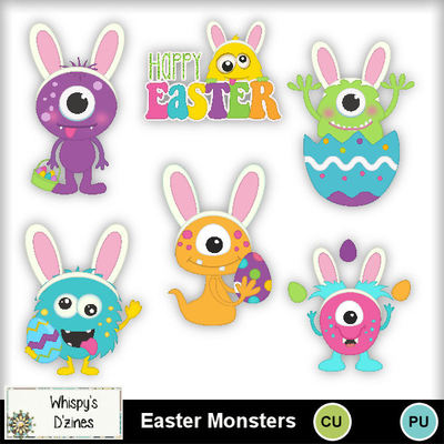 Wdcueastermonstercapv